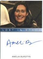 2019 RITTENHOUSE * LOST IN SPACE SEASON 1 * AMELIA BURSTYN AUTOGRAPH CARD *