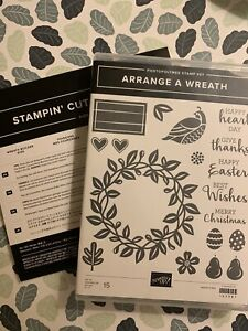Stampin Up Wreath Builder Dies & Arrange A Wreath Stamp Set