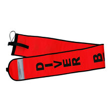 """5ft 7"""" Safety Sausage Surface Marker Buoy SMB for Scuba Diving Diver Below"""