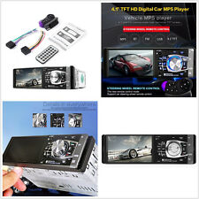 Car SUV 4.1 inch Bluetooth In-Dash Stereo Radio HD MP5 MP3 USB AUX Player Camera