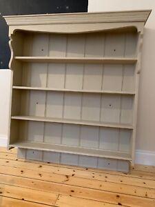 Beautiful large kitchen dresser top; shelves; Welsh dresser; display cabinet.