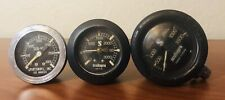 Vintage Scuba Pro Diving Gauge Lot - Made In Italy (2 Scuba Pro & 1 Sea-View)