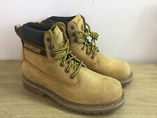Caterpillar Holton Safety Boots Honey Size 8