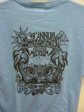 Summer Surf Contest*Huntington Beach,Calif*2019*T-Shirt* Men*Lg*Blue*Nwt