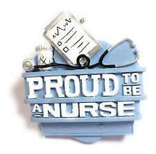 JWM Proud To Be A Nurse Holiday Christmas Tree Ornament