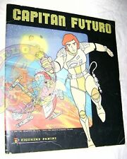 CAPITAN FUTURO Captain Future 80 Panini sticker book - album figurine incompleto