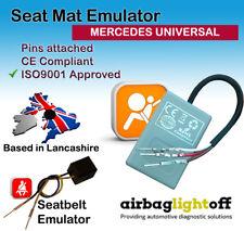Asiento del pasajero Airbag Sensor de ocupación emulador Mercedes Clase A Clase E Clase S