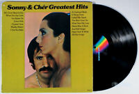 Sonny and Cher - Greatest Hits (1974) Vinyl LP • & Best of, Beat Goes On