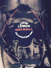 BEATLES vintage1975 JOHN LENNON ROCK N ROLL YOU SHOULDA BEEN THERE JACKET- Small