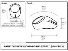 Harley-Davidson V-ROD NIGHTROD Muscle Model  VROD 2002-2016  fixing kit included