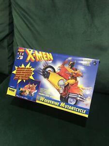 New & Unused- 1994 - VINTAGE - X-MEN Vehicle Set Wolverine Mutant Cycle BOXED