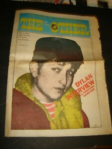 The East Village Other newspaper - Vol. 6 No. 8 Jan 19, 1971 BOB DYLAN INTERVIEW