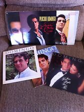 PLACIDO DOMINGO - LOTE LOT 6 X LP VINYL COLECCION VINILOS - ORIGINAL PRESS