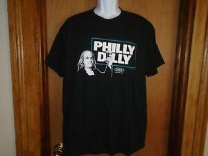 Philadelphia Eagles Ben Franklin Philly Dilly Beer Men's T Shirt L XXL NWT