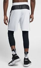 """NIKE DRI FIT ELITE MENS 9"""" BASKETBALL SHORTS XL TALL BRAND NEW WITH TAGS"""