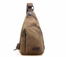 Mujer Hombre Bolso de hombro bandolera Casual Mensajero Escuela de viaje bolsas de lona