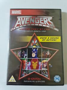 THE AVENGERS▪︎UNITED THEY STAND COMPLETE SERIES▪︎R2 Dvd (1999) FREE POSTAGE▪︎