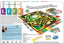 The Game of Life Classic Reproduction 1960 1st Edition Board Game Hasbro PK138