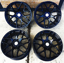 """18"""" WINTER BLACK STAGGERED ALLOY WHEELS FITS BMW 3 SERIES E46 Z3 COUPE"""