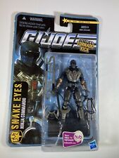 Gi Joe 2010 Pursuit Of cobra poc Tornado kick snake eyes action figure New