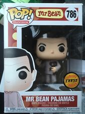 Funko POP Television MR BEAN Pajamas CHASE 786 Lot Of 2 Please Read A See Pics