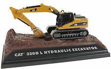 CAT DIE-CAST METAL 320D L HYDRAULIC EXCAVATOR No 55436 1:87 SCALE NEW IN BOX