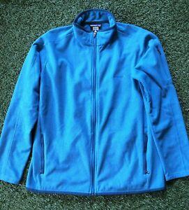 Patagonia Fleece Zip Up Lightweight Women's XL SP12 Blue