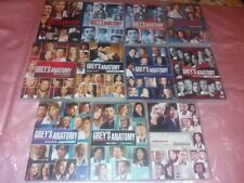 11 BOX+61 dvd nuovi GREY'S ANATOMY 1-10 -STAGIONI COMPLETE 1-2-3-4-5-6-7-8-9-10