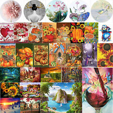5D Full Round Drill Landscape Diamond Painting Embroidery Mosaic Kits Wall Art