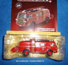 n° 76 PEGASO II Z 203  camion POMPIER Citerne Pompiers FERROL 1/43 Neuf Boite