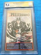 Havok & Wolverine Meltdown #1 - CGC SS 9.6 NM+ - Signed by W & L by Simonson
