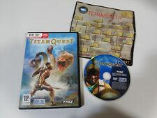 TITAN QUEST JEU DE PC ESPAGNOL DVD-ROM IRON LORE THQ