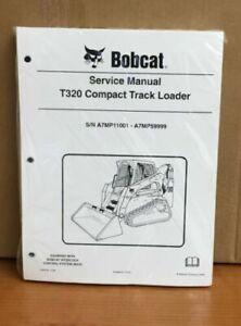 Bobcat T320 Track Loader Service Manual Shop Repair Book 1 Part # 6986558