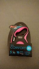 New listing Flexi New Comfort Tape Leash Pink Small For Dogs Up To 33 lbs. Upc: 840317106282