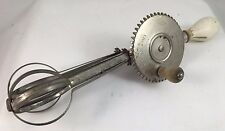 Vintage Egg Beater A&J Made in U.S.A. Pat Oct 1923
