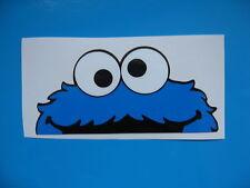 Cookie Monster crucifère Autocollant Voiture Bombing Décalque