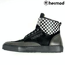 Helstons Utah Motorbike Motorcycle Sneakers Trainer Boots - Black