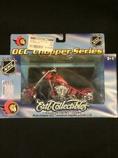 Ottawa Senators OCC Chopper Diecast Bike NHL 1:18 Scale