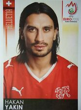 Panini 64 Hakan Yakin Schweiz UEFA Euro 2008