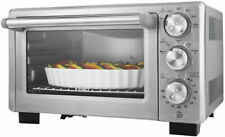 Convection Toaster Oven 6 Slice Family Size Pizza Cook Broil Stainless Steel NEW