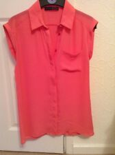 LADIES Sleeveless Blouse by Atmosphere Size 6 Pink EX COND