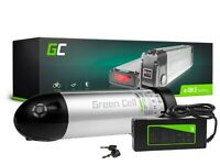 E-Bike Akku 36V 8.8Ah 317Wh Li-Ion Flasche Elektrofahrrad Batterie + Ladegerät