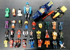 GO-BOTS LOT OF 33 VINTAGE TONKA SOME RARE!