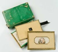 Freundschaftsalbum, Grüne Briefschachtel, um 1834, Handgeschriebene Briefe