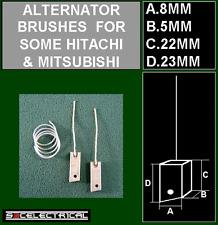 12 Volt Alternatore Spazzole PLUS saldatura Si Adatta Mitsubishi Hitachi 140576 JMTX41