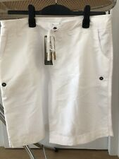 Moonride Mid Length Board Shorts White Size 12