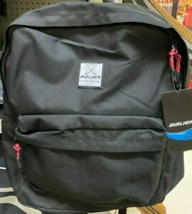 Bauer Backpack - Bauer Hockey Bag - BLACK