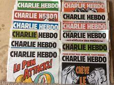 Lot 12 CHARLIE HEBDO n°1178 à 1189