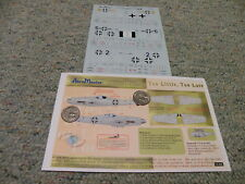Aeromaster  decals 1/72 72-205 Too Little Too Late FW190D-9 Part III    A97