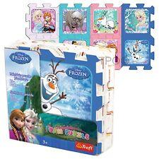 Trefl 8 piezas bebé niños infantil chicas alfombra de espuma suave Disney Frozen Rompecabezas